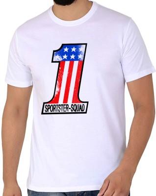 WTFUNK Graphic Print Men Round Neck White T-Shirt