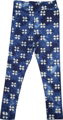 Hunny Bunny Legging For Girls(Blue Pack of 1)