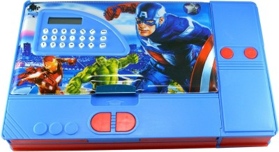 Toyvala Avengers Avengers Art Plastic Pencil Box(Set of 1, Multicolor)