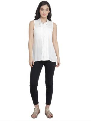 Marc Loire Women Solid Casual Slim Shirt