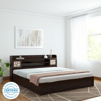 Spacewood Mayflower Engineered Wood King Box Bed(Finish Color -  Vermount)