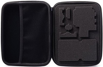 Padraig Camera Case Water-Resistant Shockproof Storage Protective Large Bag Box for Sprots Action  Camera Bag(Black) 1