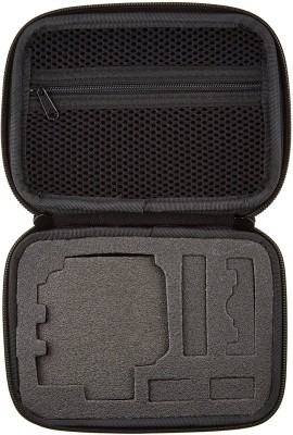 Padraig Action Camera Medium Size Travel Storage Collection Bag Case  Camera Bag(Black)