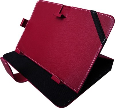 Fastway Book Cover for 7 Inch Universal Tablet(Maroon, Black)