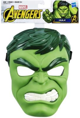 Marvel Avengers Hero Hulk Mask Decorative Mask(Multicolor, Pack of 1) at flipkart