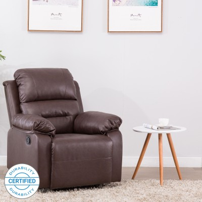 Flipkart Perfect Homes Wayne 3 Seater Fabric Recliner(Finish Color - Cream)