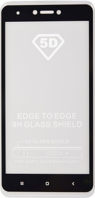 Jabox Edge To Edge Tempered Glass for Mi Redmi 4(Pack of 1)