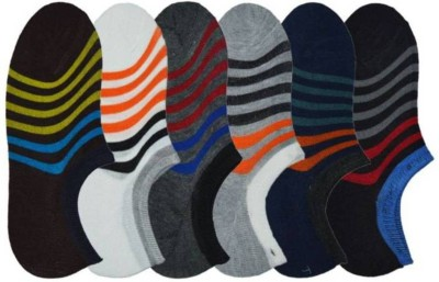 Goldstar Boy's & Girl's Striped Footie Socks(Pack of 6)