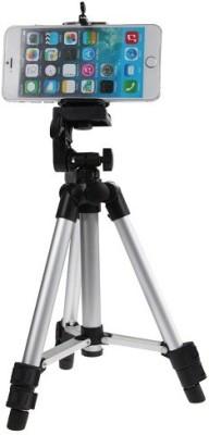 Rewy Prajo Tripod-3110 40.2 Inch Portable Camera Tripod With Three-Dimensional Head & Quick Release Plate Tripod Tripod(Black, Supports Up to 3000 g) 1