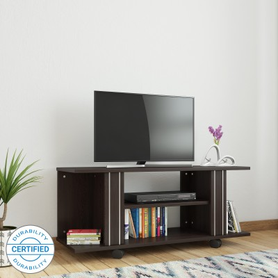 7b649f5cc Valtos Engineered Wood TV Entertainment Unit(Finish Color - Wenge)