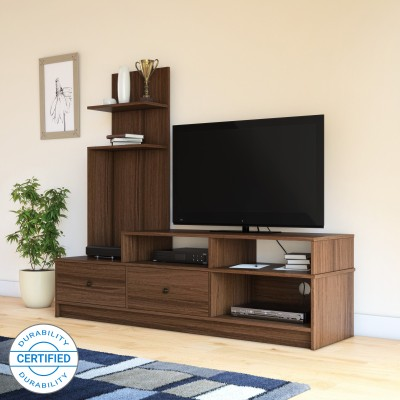 Perfect Homes by Flipkart Sirena TV Entertainment Unit(Finish Color - Walnut)