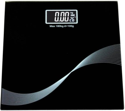 Mezire Home, Bathroom Weighing Scale(Black) Weighing Scale(Black)