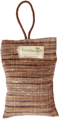 RENEWAIR Activated Coconut Charcoal Natural Air Purifier Portable Room Air Purifier(Brown)  available at flipkart for Rs.450