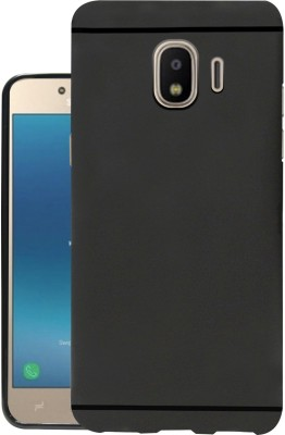 Jkobi Back Cover for Samsung Galaxy J2 2018(Black, Dual Protection, Rubber)