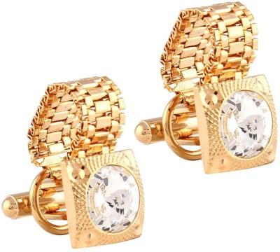 Miami Copper, Brass Cufflink(Silver)