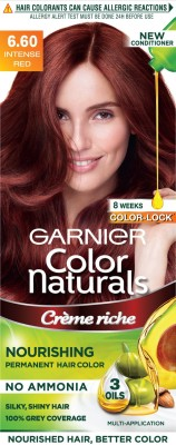 Garnier Color Naturals Hair Color - Shade 6.60 Intense Red, 70ml