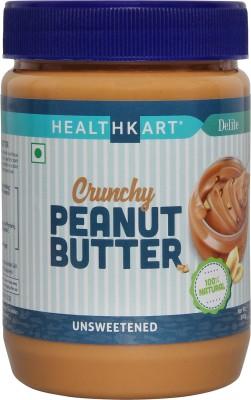 HealthKart Crunchy Peanut Butter (Unsweetened, 500GM)