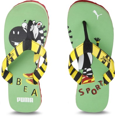 Puma Boys & Girls Slip On Slipper Flip Flop(Multicolor)