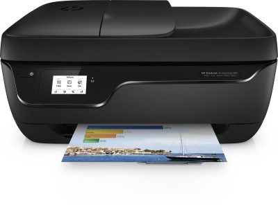 HP DeskJet Ink Advantage 3835 All-in-One Multi-function Wireless Printer(Black, Ink Cartridge)