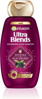 Garnier Ultra Blends Henna Blackberry Shampoo (360ml)