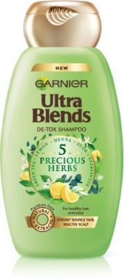 Garnier Ultra Blends 5 Precious Herbs Shampoo 340ml