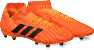 Buy ADIDAS NEMEZIZ 18.3 FG Football Shoes For Men(Orange) on ... 3c9afb30aaa