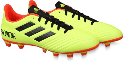 8f1e67943 Buy ADIDAS PREDATOR 18.4 FXG Football Shoes For Men(Green) on ...
