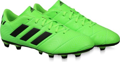 cheap for discount 5e4fd 8762b Buy ADIDAS NEMEZIZ MESSI 18.4 FXG Football Shoes For Men(Green) on Flipkart    PaisaWapas.com