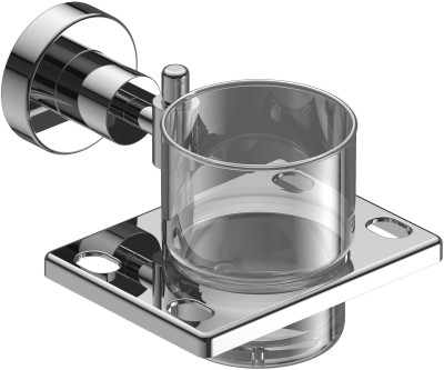 Amity Sogo Stainless Steel Toothbrush Holder(Steel, Wall Mount)