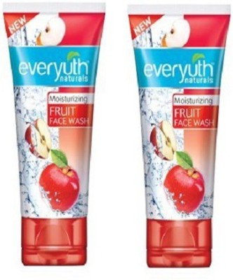 EVERYUTH NATURALS Moisturizing Fruit Face Wash - 50 Gm (1 Pack) Face Wash(300 g)
