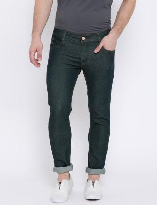 Tribewear Slim Men Green Jeans