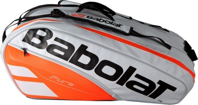 Babolat RHx12 PURE STRIKE Tennis Kit bag (white red) KIT BAG(White, Kit Bag)