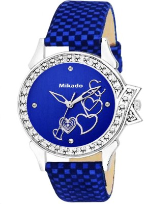Mikado Beautiful Black Dial Analog watch For Women and Girls Watch  - For Girls