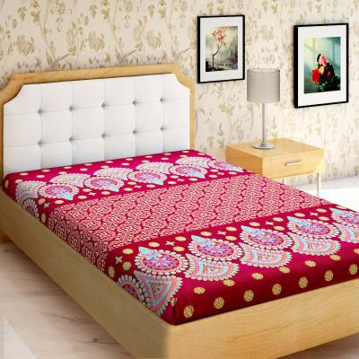 IWS 144 TC Microfiber Single Printed Bedsheet