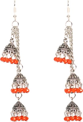 Zaara Fashion Alloy Dangles Jhumki Earring Alloy Dangle Earring, Jhumki Earring
