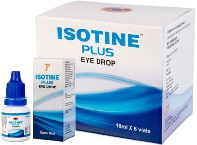 isotine plus eye drop Eye Drops(10 ml)