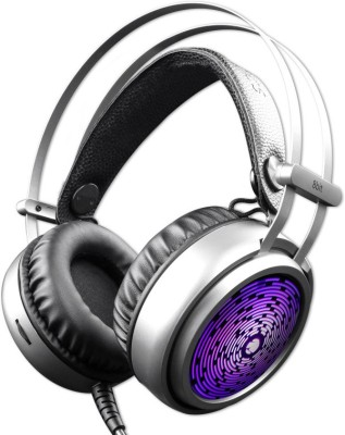 Zebronics 8 bit Gaming Headphone Wired Headset Gaming Headphone(Black, Wired over the head)
