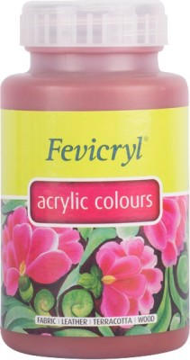 Fevicryl Pidilite Acrylic Colour (500 Ml) Indian Red(Set of 1, Indian Red)