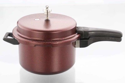 Oscar 5 Ltrs Outer Lid Granito Aluminium Pressure Cooker 5 Pressure Cooker with Induction Bottom(Aluminium)