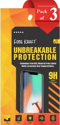 Trenzo Impossible Screen Guard for Samsung Galaxy Note 8 By FoneKraft (Pack Of 3)