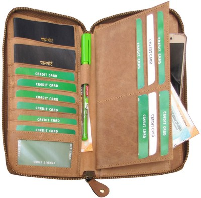 94a1a5ead 51% OFF on ABYS Genuine Leather Passport Holder