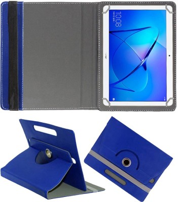 Fastway Flip Cover for Honor MediaPad T3 10 9.6 inch(Blue, Cases with Holder, Artificial Leather)