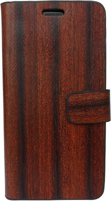 G-case Flip Cover for FOR Nokia Lumia 1020 (EOS)(Brown & Black, Grip Case, Artificial Leather)