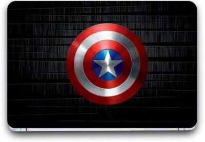 Gallery 83 ® camptain america shield laptop skin sticker wallpaper (15 inch x 10 inch) 3365 vinyl Laptop Decal 15.6 vinyl Laptop Decal 15.6