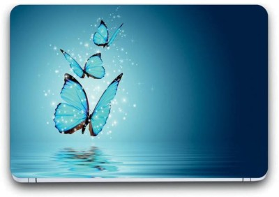 Gallery 83 ® butterfly laptop skin sticker wallpaper (15 inch x 10 inch) 3253 vinyl Laptop Decal 15.6 vinyl Laptop Decal 15.6