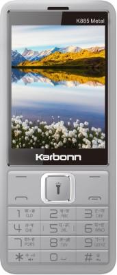 Karbonn K885 Metal(Silver)