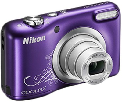 Nikon Coolpix Coolpix A10 Point and Shoot Camera(16.1 MP, 5x Optical Zoom, 4x Digital Zoom, Purple) 1