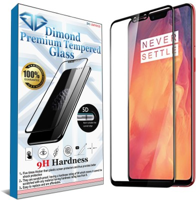 DG(DEVICE) Edge To Edge Tempered Glass for OnePlus 6