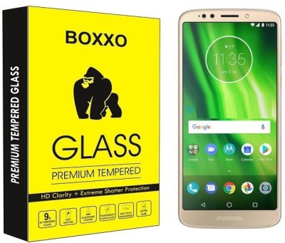 Boxxo Tempered Glass Guard for Motorola Moto G6 Play(Pack of 1)