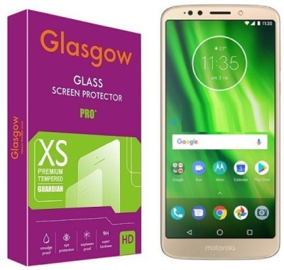 Glasgow Tempered Glass Guard for Motorola Moto G6 Play(Pack of 1)